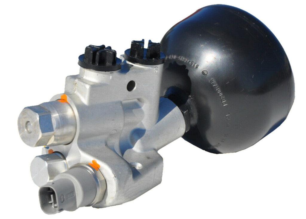 ABC-Ventilblock-Ventileinheit-Druckbegrenzungsventil-Mercedes-W220-C215-SL-R230-2