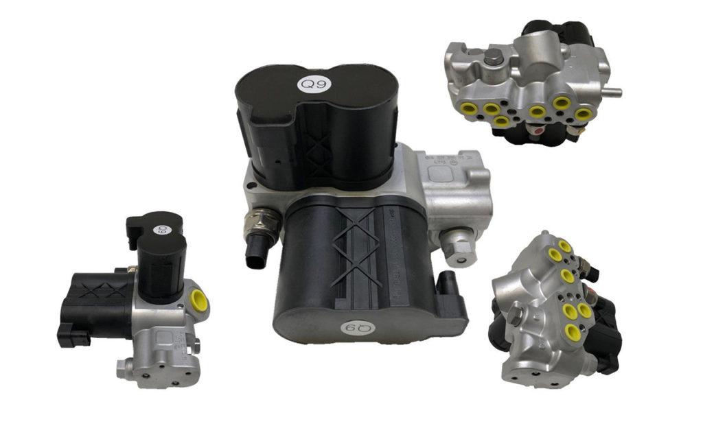 Ventileinheit-Ventilblock-ABC-Fahrwerk-vorn-Mercedes-AMG-W221-C216-SL-R230-R231-1